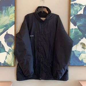 Columbia Men's Black Jacket Winter Coat XL